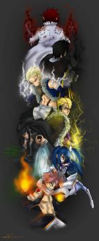 Dragon slayers ~ by Stray-Ink92