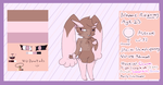 Rozowy Ref Sheet by Shadow--Flareon