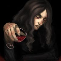 The dreamer and the wine by Hyanide
