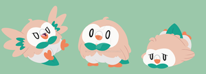 Rowlets by itsaaudraw