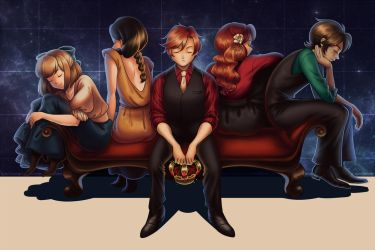 [ORIGINAL] Kings and Queens by alicenpai