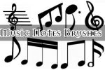 Music Notes Brushes by missedyn