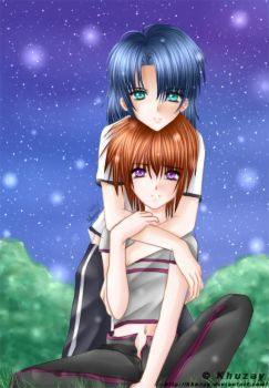 Athrun x Kira collab by the-perfect-drug