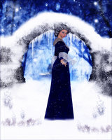 Enchanted Winter Night by Frollein-Zombie