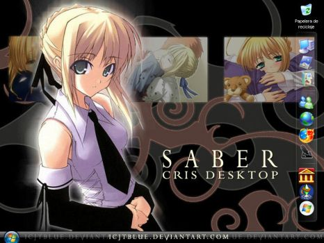 Saber Screen by ICJTBLUE