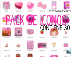 Pack De Iconos by tutorialescrazy