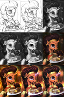 Saffron some Spice [WIP] by AssasinMonkey