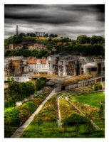 HDR Edinburgh Scotland by SaudiDude
