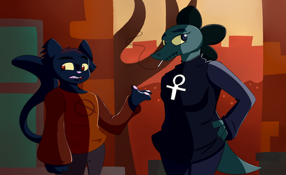 Night In The Woods by Heartbeat420