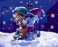 A lick of holiday cheer by thediscorded