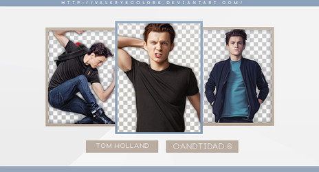 Tom Holland Png Pack by valeryscolors