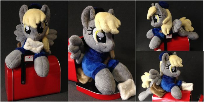 Plushie Derpy Hooves in Mail Box by Burgunzik