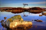 Sunrise at Loch Nah-Achlaise by ketscha