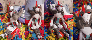 Starscream Plushie by Crystal-Rosewing
