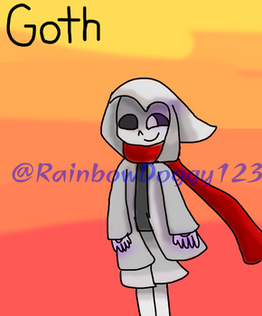 Goth...Again! by RainbowDoggy123