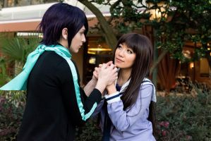 Hiyori Confesses to Yato, Noragami Cosplay by firecloak