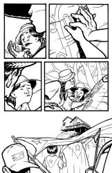 Pages for a Puerto Rico benefit! 3 by michaelharris