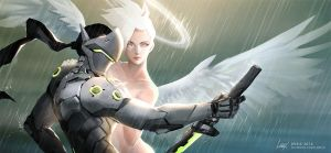 Mercy's best creation by Leirixart