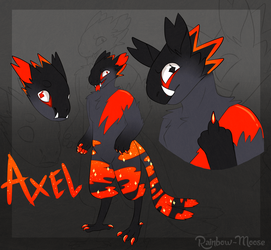 Axel Doodles by Rainbow-Moose