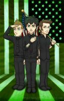 Green Day Independence by kelly42fox
