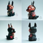 : chibi zombie dog : by BastardPrince