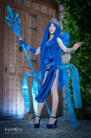 Cosplay Janna skin frost queen by Hekady