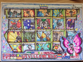 Vivillon Collection Box - TCG