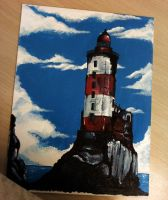 the lighthouse. by Baygel