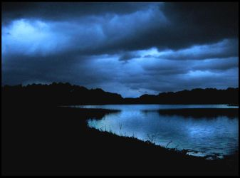 Storm on the Lake by taralse