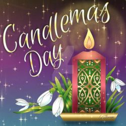 Candlemas / Imbolc Greetings by M00nTears