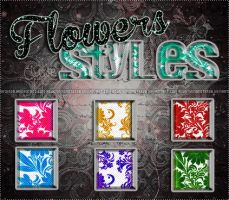 ''Flowers'' styles (#5) by AgustinMonster28