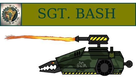 Robot Wars 2016 - Sgt.Bash by DoctorWhoOne