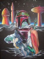 Bounty on Cloud City by GregLakowske