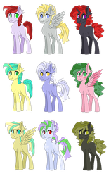 Mlp Adopt Batch {OTA}{OPEN} by AshbrightTheWise