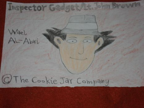 A drawing for Inspector Gadget by Wael-sa