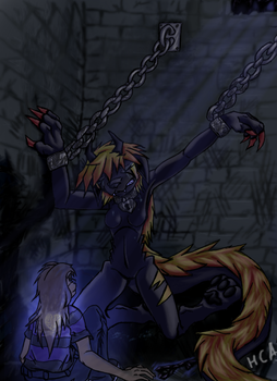 Free me from these chains by ChibiAbsol