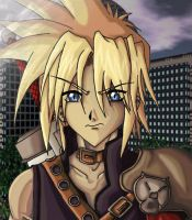 Cloud Strife - My Style by RevVolution