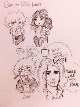 Sides to coffee lovers  by MoeMocha