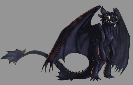 Toothless by Kerneinheit