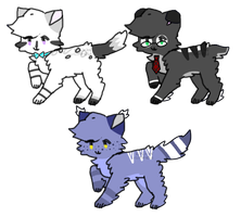 Cat Adopts! .:CLOSED:. by QualiT-Adopts