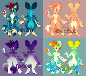 Set Price AWD Adopts (2/4 Open) by UKthewhitewolf