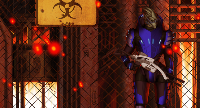 Garrus Vakarian by itchcrotch