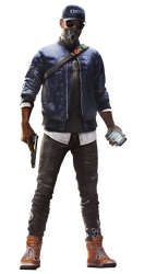 Watch Dogs 2 Marcus Holloway render 2 (wallpaper1) by Digital-Zky