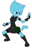 2D Nicole- TAWoG NG (transparent) by TAWoGFan2000