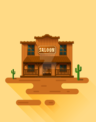 Old West Saloon by The-fishy-one