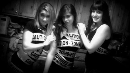 Caution - Zombies Ahead! by shellymellon