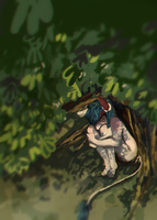 tree sleep by Xyralis