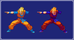 SS Future Gohan (Special Beam Cannon) | DBZ: EB by MPadillaTheSpriter