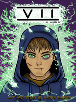 SEVEN Issue 1 Cover by SquareStingray
