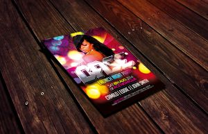 Base Nightclub/Party Flyer Template by Dannygdesigns